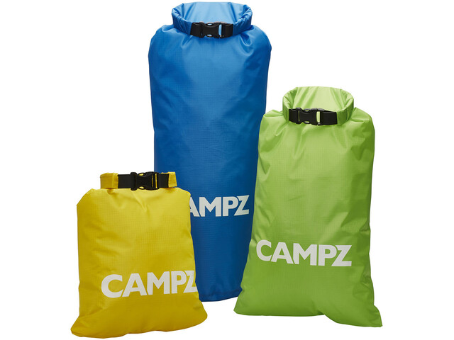 CAMPZ Fun Bolsas secas Set de 3, multicolor
